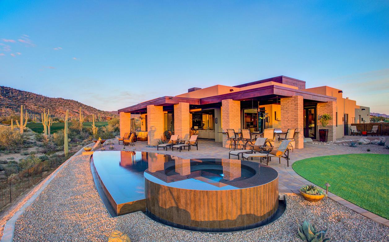 Ranch Floorplan: Dove Mountain Marana - The Residences