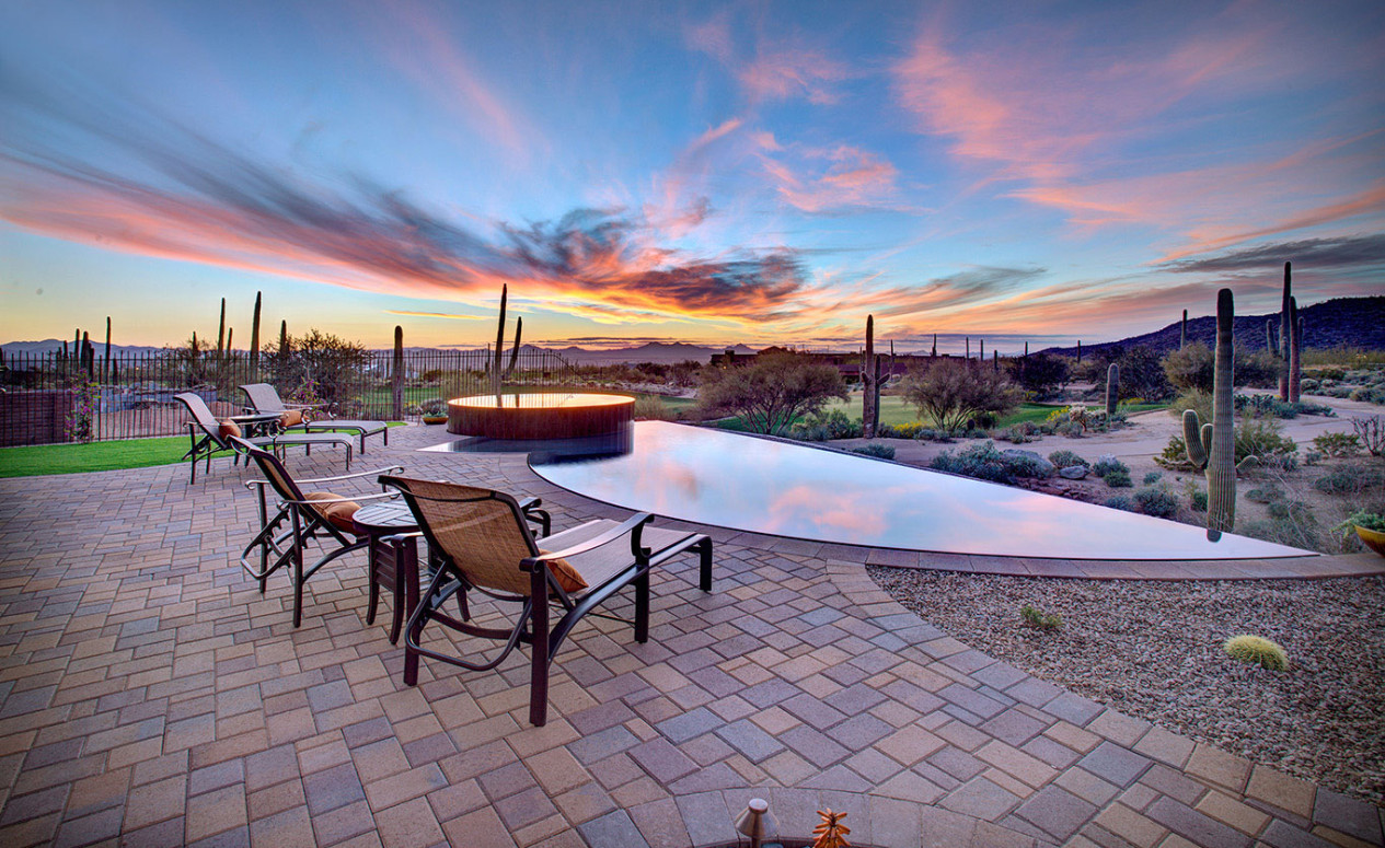 Breathtaking backyard views await you at your new luxury home in Dove Mountain, Marana.
