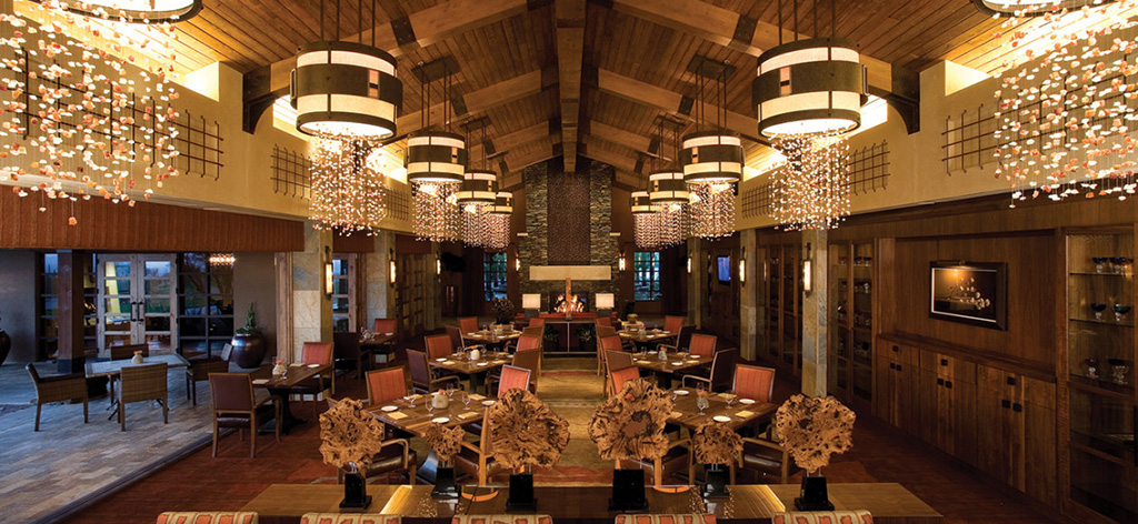 Interior dining at The Ritz-Carlton Hotel, Dove Mountain. Enjoy meals here anytime as a homeowner at The Residences.