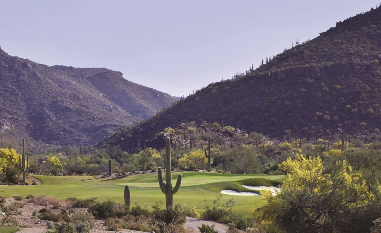 Dove Mountain golf course. Contact us today to view our Arizona luxury real estate.