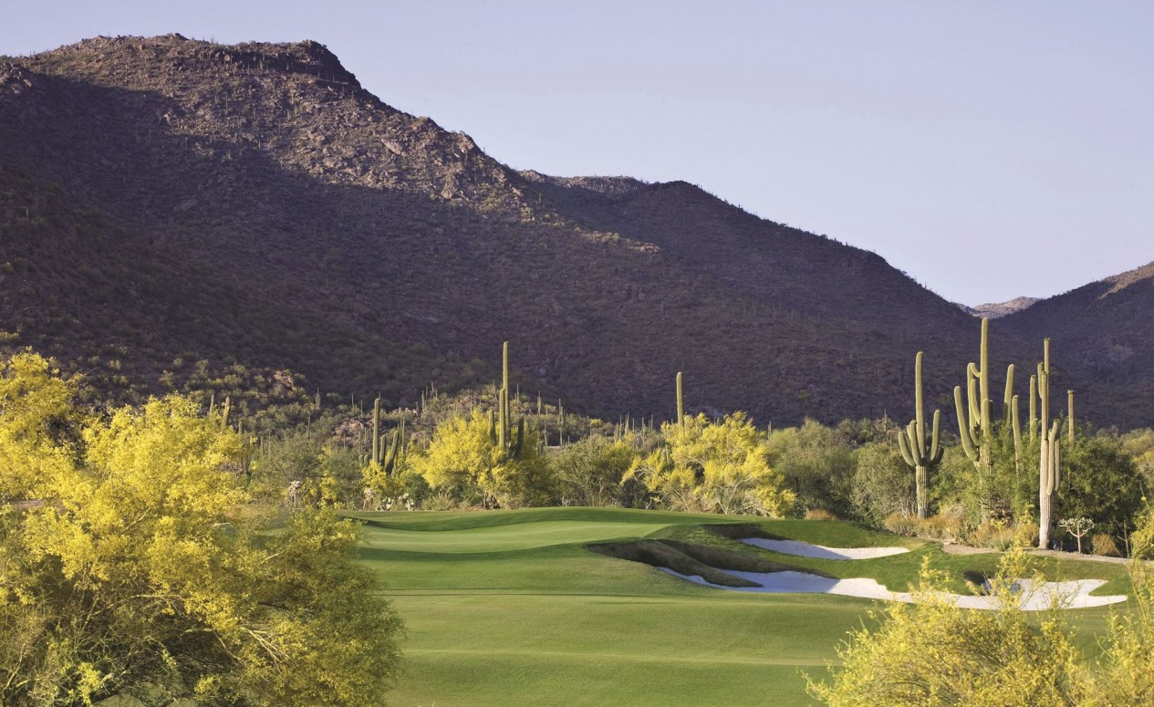 Dove Mountain golf courses, just another perk for homeowners of the luxury homes at The Ritz-Carlton Residences.