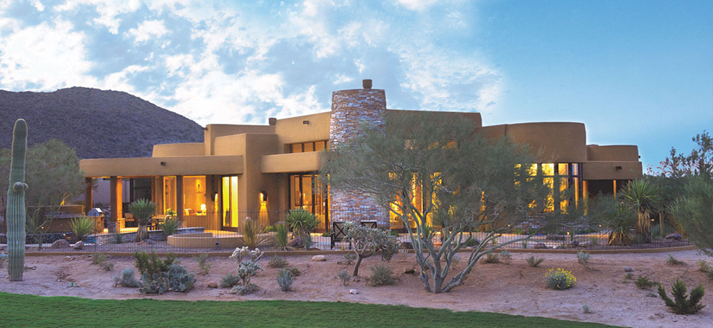 Breathtaking view of one of our luxury Dove Mountain homes for sale. Contact us for more info.