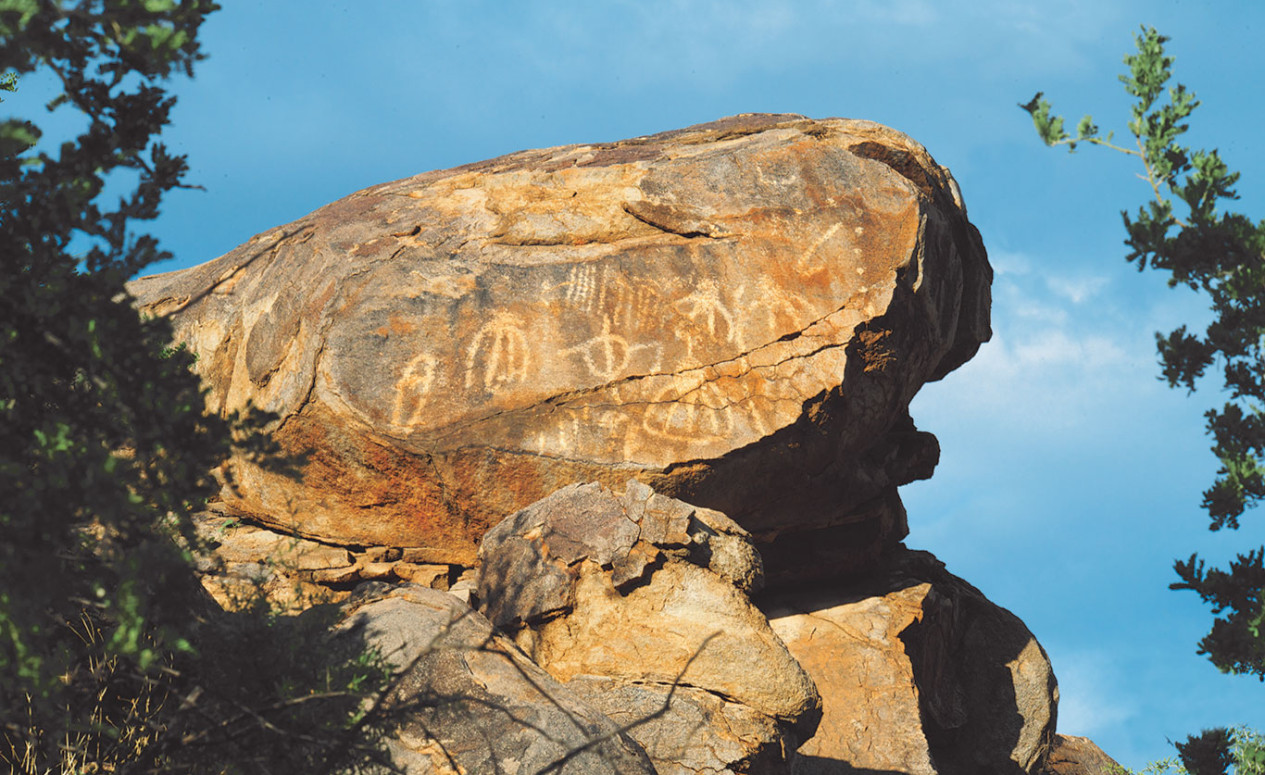 Ancient markings near The Ritz-Carlton Residences, Dove Mountain.