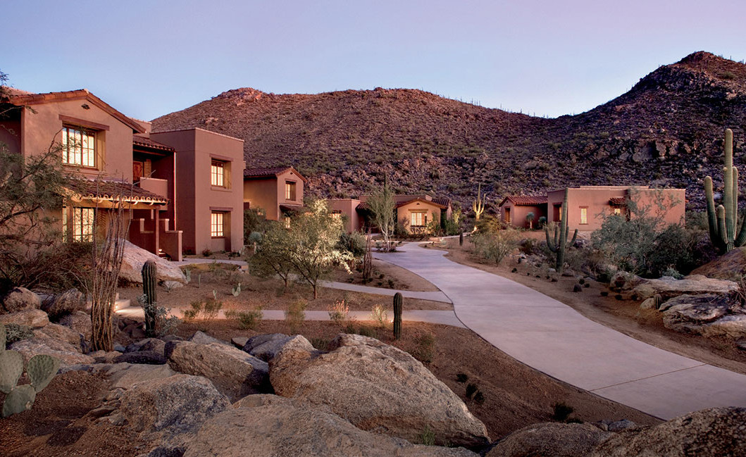 The casitas at The Ritz-Carlton Resort at Dove Mountain. Right next door… our exclusive luxury homes. Contact us for more info about Dove Mountain real estate.