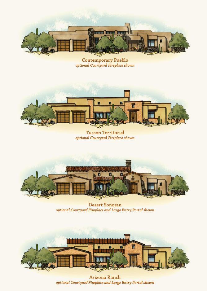 Homestead on Desert Home Floor Plans With Casita