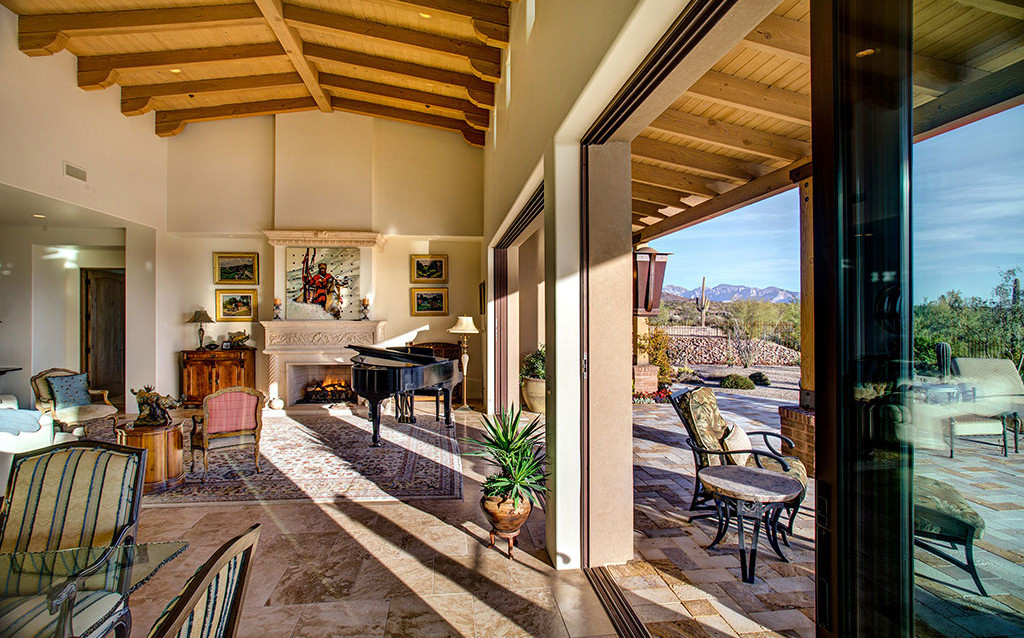 Dove Mountain Homes Hacienda Floorplan: The Residences