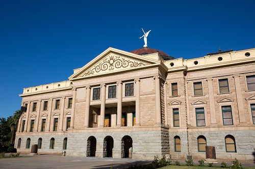 Originally the Arizona State Capitol building, it is now a museum after being replaced by an executive tower building in Phoenix, Arizona.